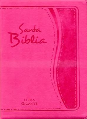 Biblia 85 CZTILGi - Letra Gigante Con Indice - Fucsia