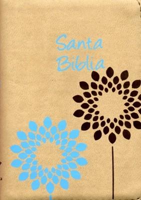 Biblia Bolsillo Con Cierre - Beige