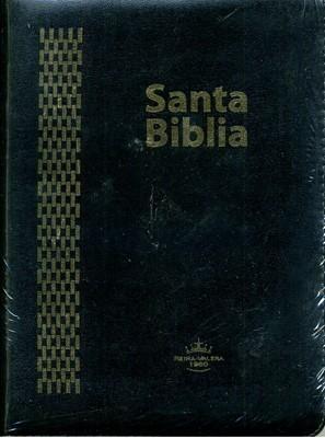 Biblia RVR60 Tamaño085CZLGIA Letra Gigante Flexible Cierre Negro