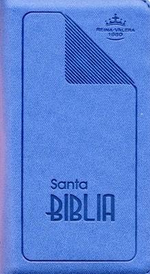 Biblia Tamaño 35 azul Flexible.