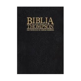 BIBLIA THOMPSON EN CADENA TEMATICA RVR 1960