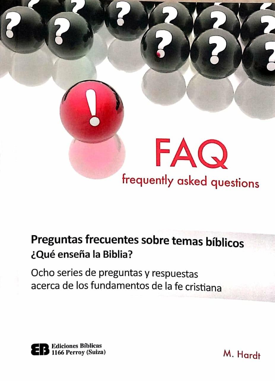 FAQ Preguntas frecuentes sobre temas bíblicos