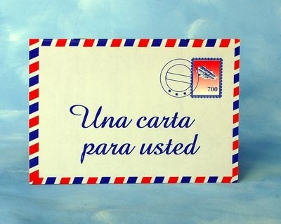 Una carta para usted